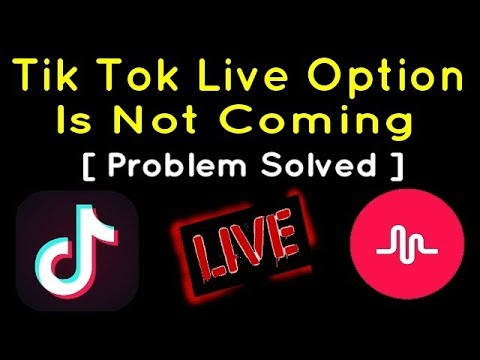How To Go Live On Tik Tok