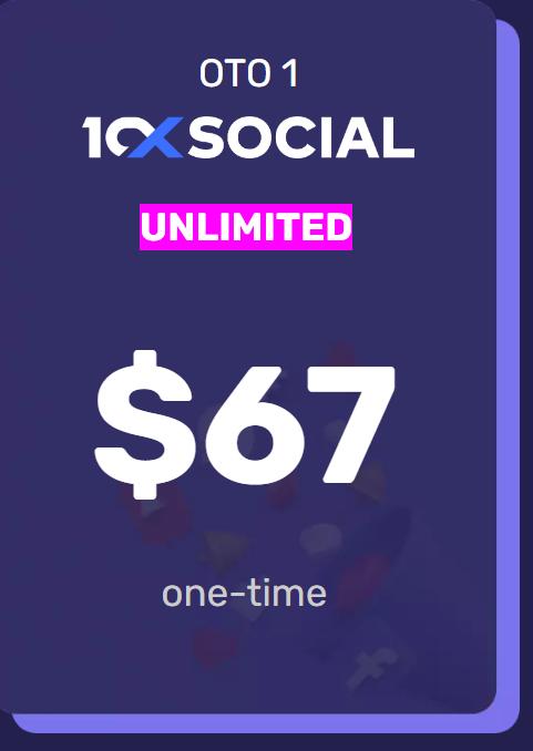 10X Social  Unlimited