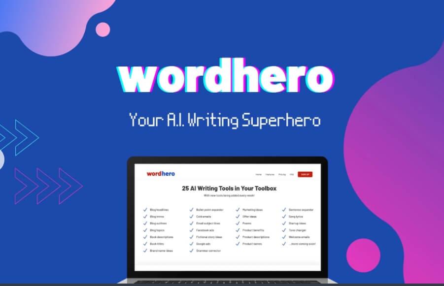 WordHero LifeTime Deal
